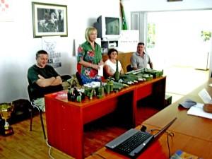 gđa ĐURĐA ADLEŠIĆ SA PREDAVANJA- Cilj ovih akcija je senzibilizacija građana i sprečavanja tragedija uzrokovanih oružjem i zaostalim minsko eksplozivnim sredstvima